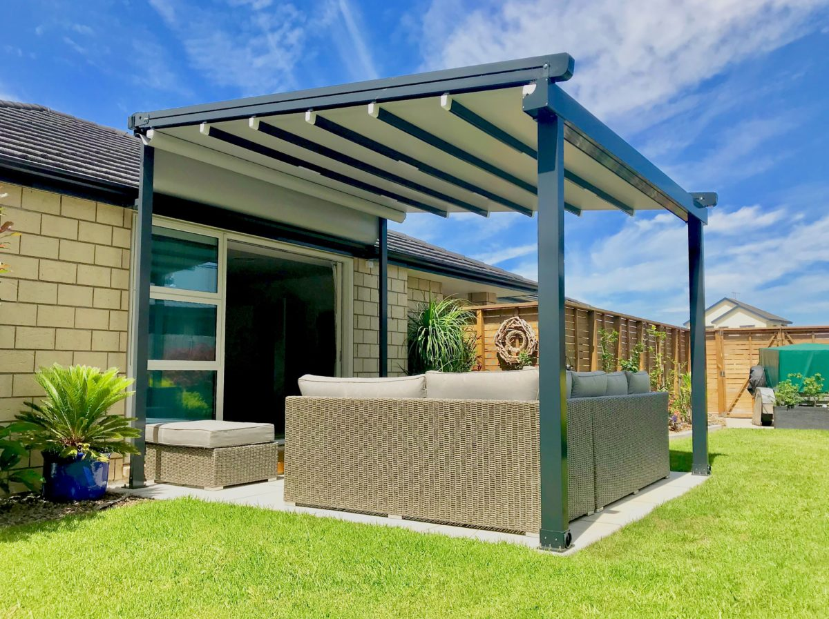 OzTech Retractable Roof Awning