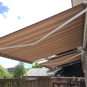 Double Llaza Monobloc 3.5m x 2.5m awnings